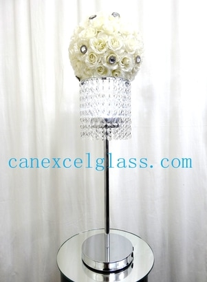 Crystal LED centerpiece